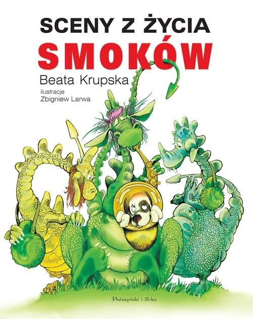 okładka Sceny z życia smoków, Książka | Krupska Beata