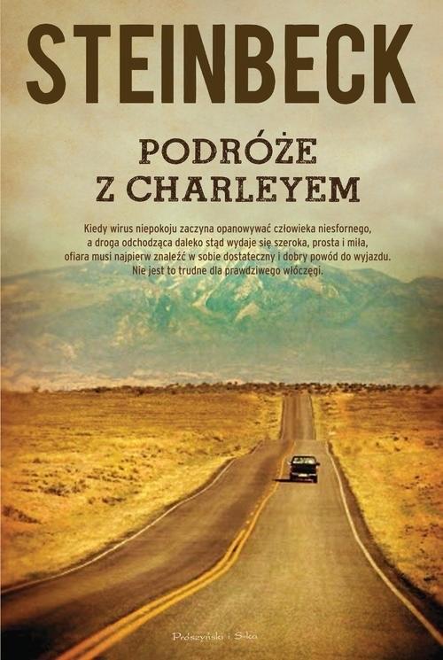okładka Podróże z Charleyem, Książka | John Steinbeck