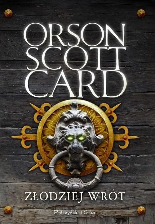 okładka Złodziej wrót, Książka | Orson Scott Card