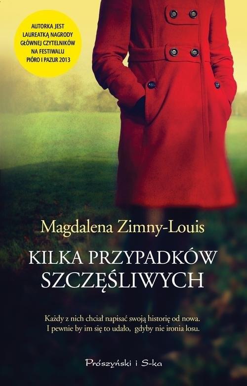 okładka Kilka przypadków szczęśliwych, Książka | Zimny-Louis Magdalena