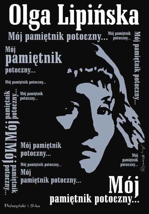 okładka Mój pamiętnik potoczny, Książka | Lipińska Olga
