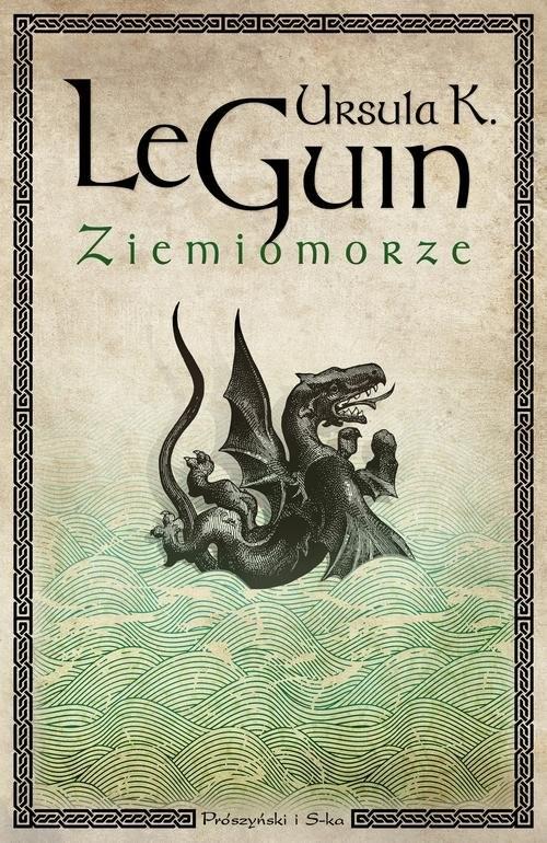 okładka Ziemiomorze, Książka | Ursula K. Le Guin