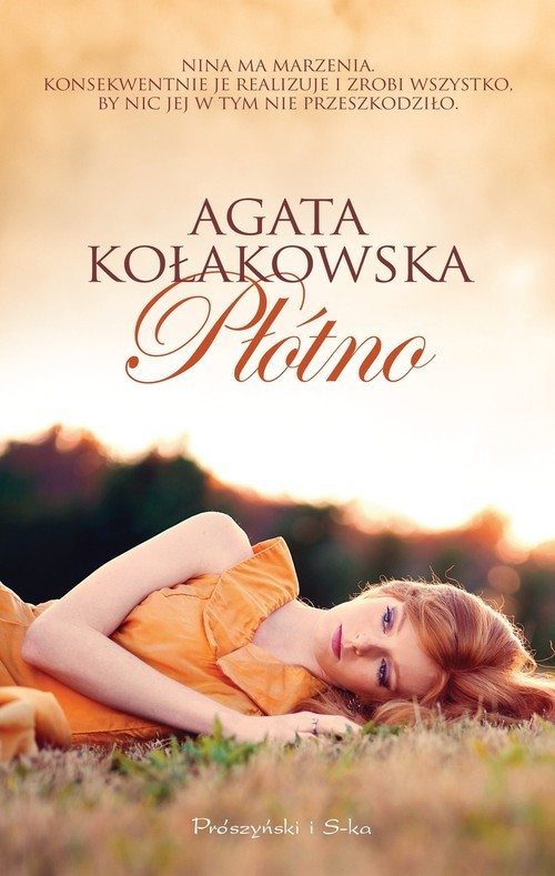 okładka Płótno, Książka | Agata Kołakowska