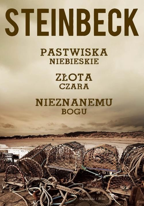 okładka Pastwiska Niebieskie, Złota Czara, Nieznanemu bogu, Książka | John Steinbeck