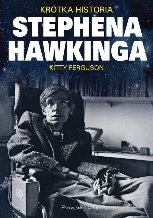 okładka Krótka historia Stephena Hawkinga, Książka | Ferguson Kitty