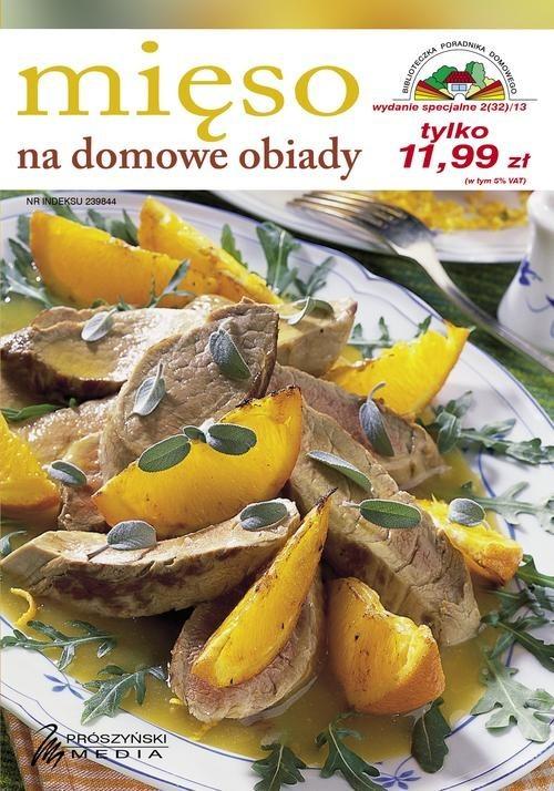 okładka Mięso na domowe obiady, Książka | zbiorowa praca