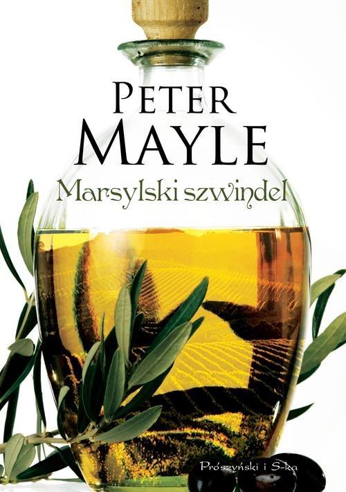 okładka Marsylski szwindel, Książka | Mayle Peter