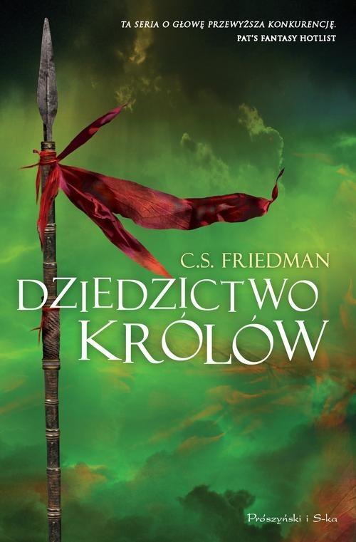 okładka Dziedzictwo królów, Książka   Friedman C.S.