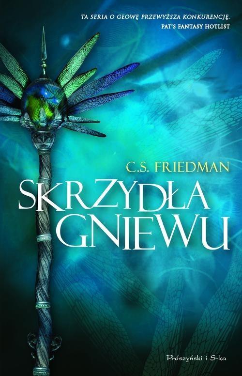 okładka Skrzydła gniewu, Książka   Friedman C.S.