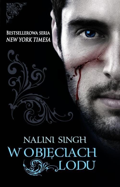 okładka W objęciach lodu, Książka | Singh Nalini