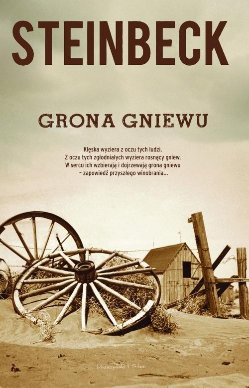 okładka Grona gniewu, Książka | John Steinbeck