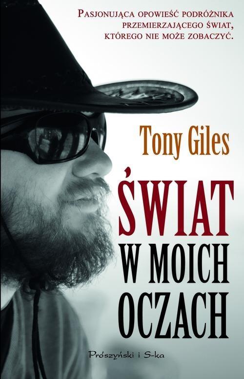 okładka Świat w moich oczach, Książka | Tony Giles