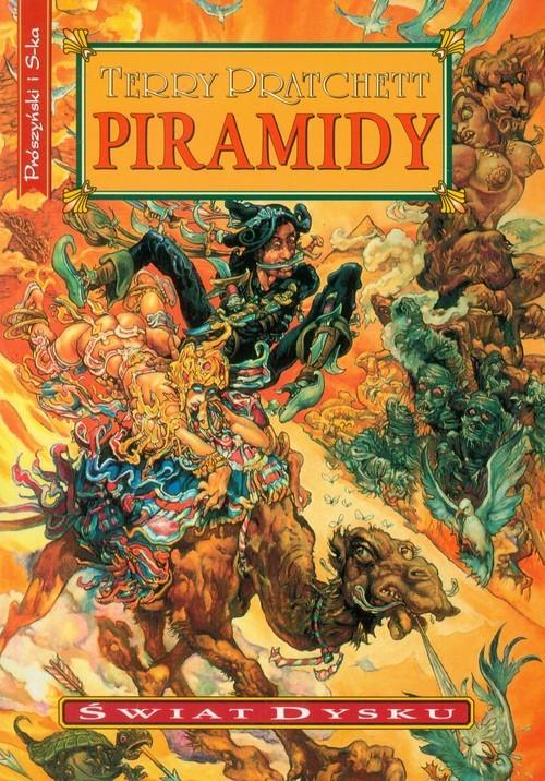 okładka Piramidy, Książka   Terry Pratchett