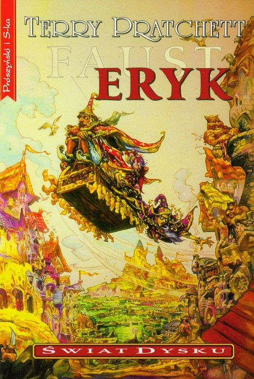 okładka Eryk, Książka | Terry Pratchett