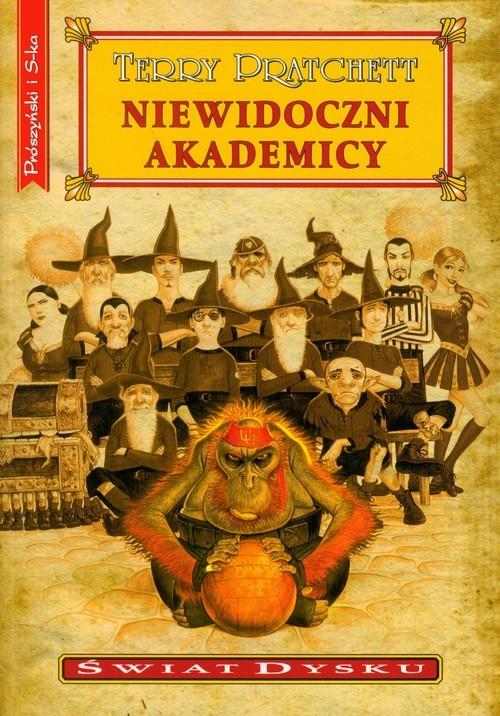 okładka Niewidoczni akademicy, Książka   Terry Pratchett