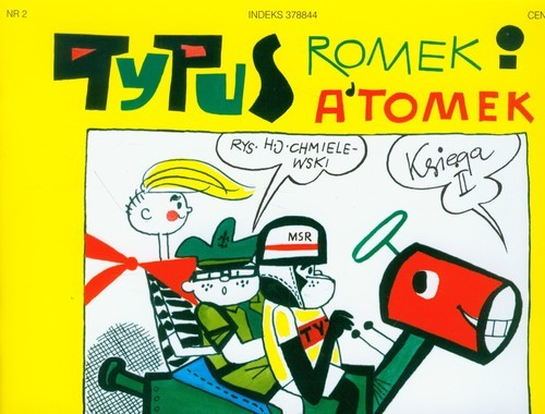okładka Tytus Romek i Atomek. Księga II. Tytus zdaje na prawo jazdy, Książka | Henryk Jerzy Chmielewski