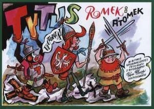 okładka Tytus Romek i Atomek w Bitwie grunwaldzkiej 1410 roku, Książka | Henryk Jerzy Chmielewski