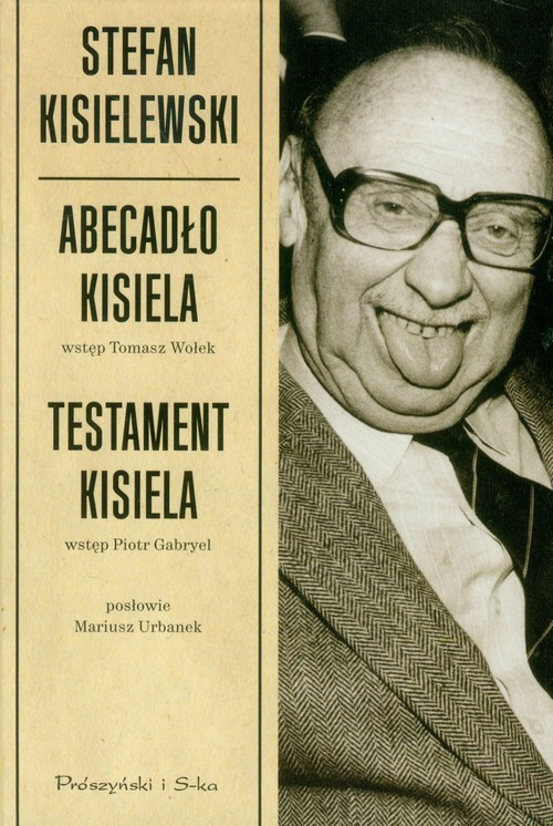 okładka Abecadło Kisiela. Testament Kisiela, Książka | Kisielewski Stefan