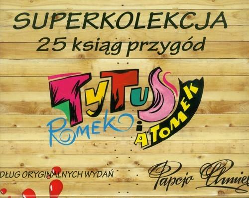 okładka Tytus Superkolekcja. Tom 1-25. Pakiet, Książka | Henryk Jerzy Chmielewski