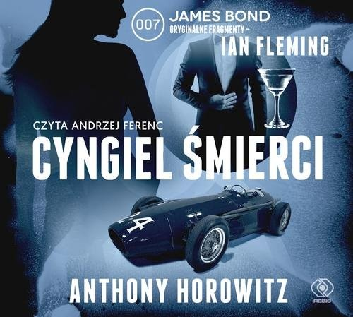 okładka Cyngiel śmierci, Książka | Anthony Horowitz