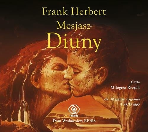 okładka Mesjasz Diuny, Książka | Frank Herbert