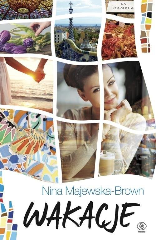 okładka Wakacje, Książka | Majewska-Brown Nina