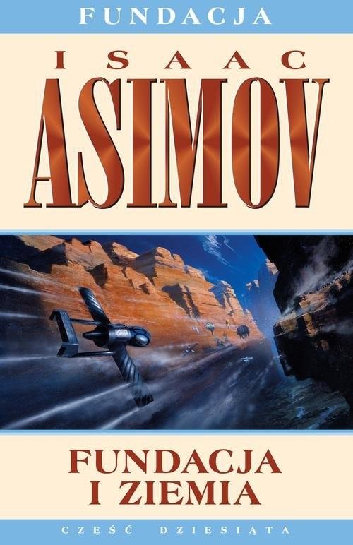 okładka Fundacja i Ziemia, Książka | Asimov Isaac
