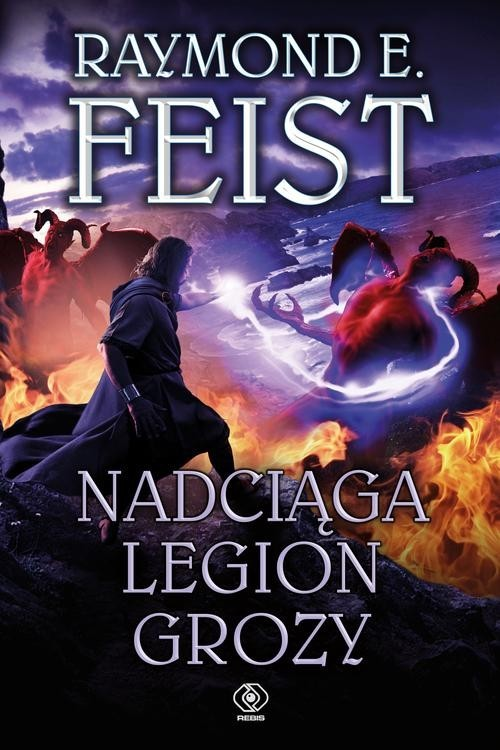 okładka Nadciąga Legion Grozy, Książka   Raymond E. Feist