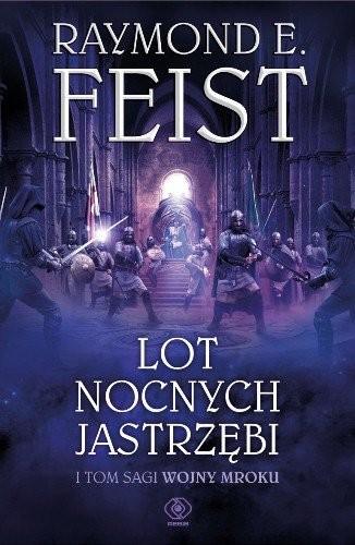okładka Lot Nocnych Jastrzębi, Książka   E. Feist Raymond