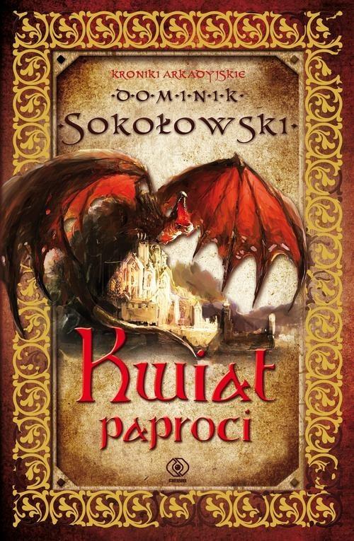 okładka Kwiat paproci, Książka   Sokołowski Dominik