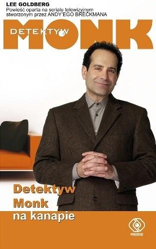 okładka Detektyw Monk na kanapie, Książka | Goldberg Lee