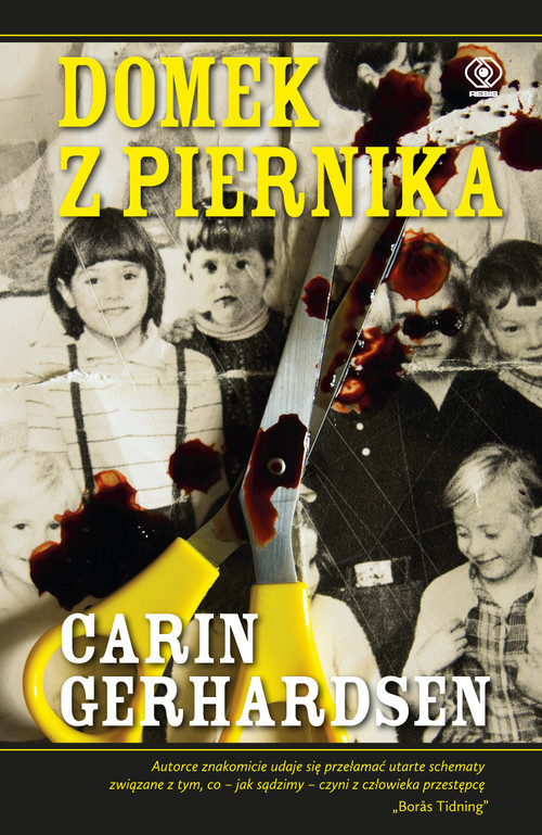 okładka Domek z piernika, Książka | Gerhardsen Carin