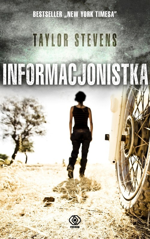 okładka Informacjonistka, Książka | Taylor Stevens