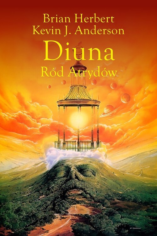 okładka Diuna. Ród Atrydów, Książka | Brian Herbert, Kevin J. Anderson