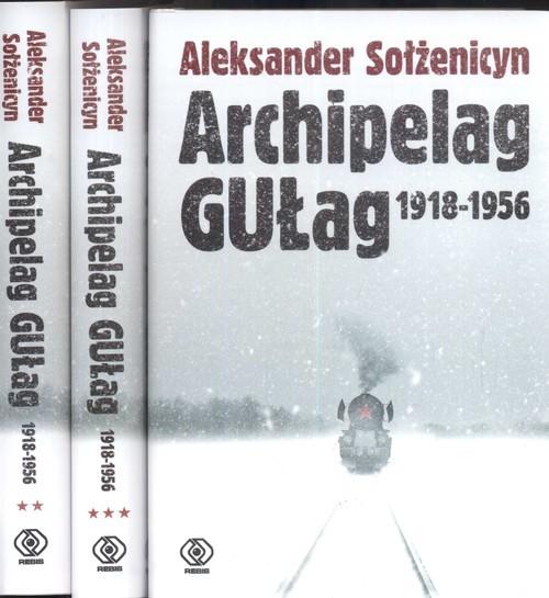 okładka Archipelag GUŁag 1918-1956. Tom 1-3, Książka | Sołżenicyn Aleksander