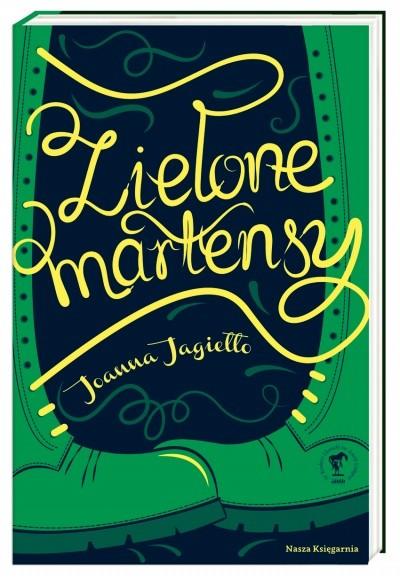 okładka Zielone martensy, Książka | Jagiełło Joanna
