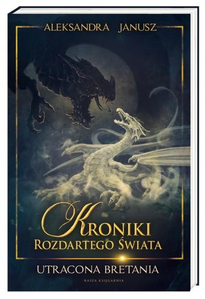 okładka Utracona Bretania, Książka | Aleksandra Janusz