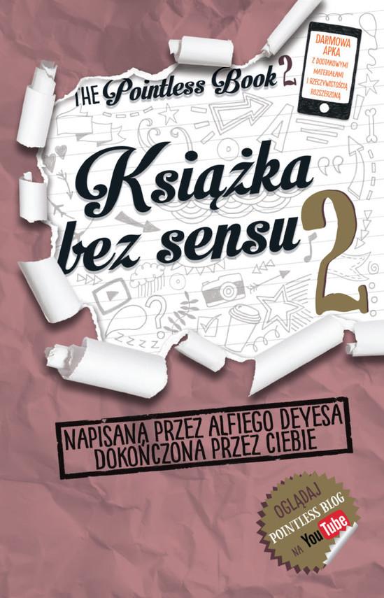 okładka Książka bez sensu 2, Książka | Deyes Alfie
