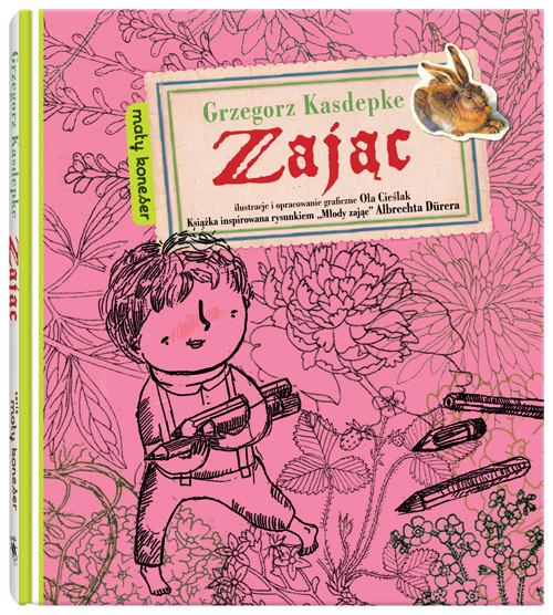 okładka Zając, Książka   Kasdepke Grzegorz