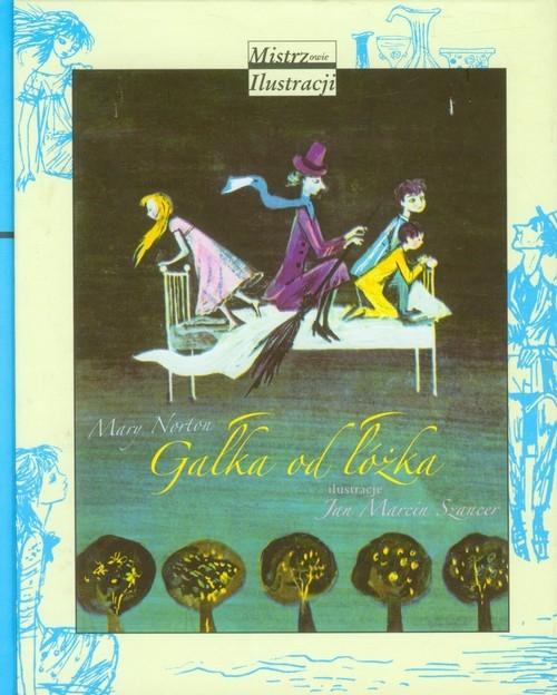 okładka Gałka od łóżka, Książka   Norton Mary