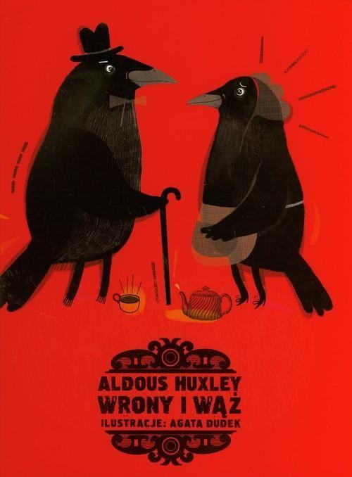 okładka Wrony i wąż, Książka   Huxley Aldous