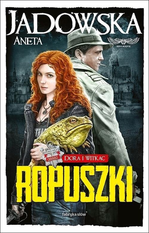okładka Ropuszki, Książka | Jadowska Aneta