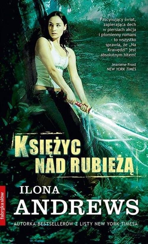 okładka Księżyc nad Rubieżą, Książka | Andrews Ilona