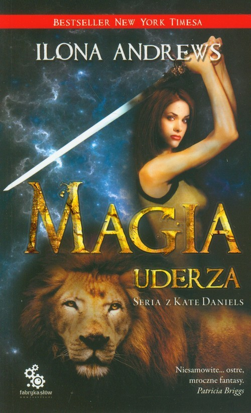okładka Magia uderza, Książka | Andrews Ilona