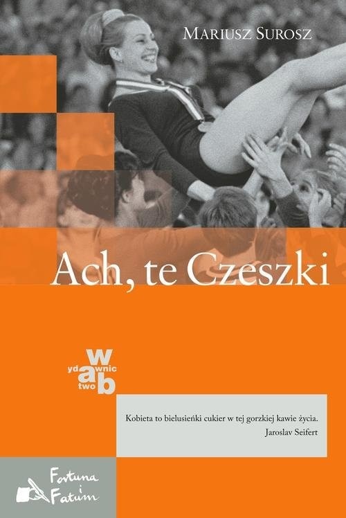okładka Ach, te Czeszki, Książka | Mariusz Surosz
