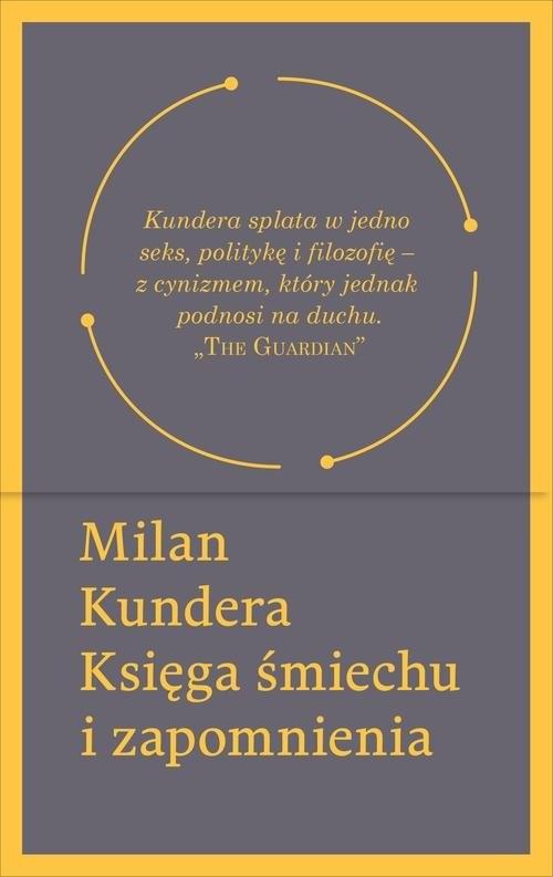 okładka Księga śmiechu i zapomnienia, Książka | Kundera Milan