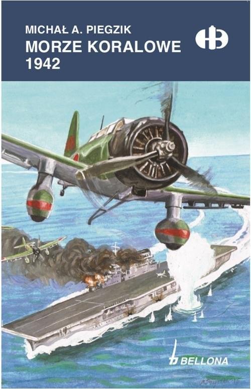 okładka Morze Koralowe 1942, Książka | Michał A. Piegzik