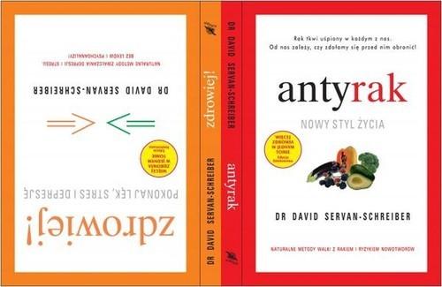 okładka Antyrak. Nowy styl życia, Książka | David Servan-Schreiber