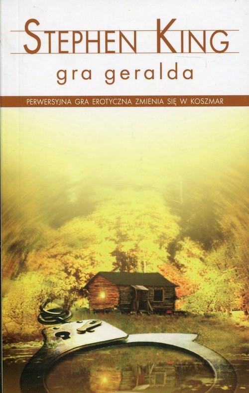 okładka Gra Geralda, Książka | Stephen King