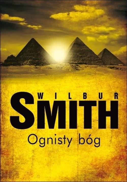 okładka Ognisty bóg, Książka   Wilbur Smith